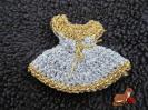 Anstecknadel Kleidchen